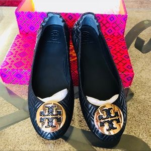 Brand New - Tory Burch - Quilted Flats